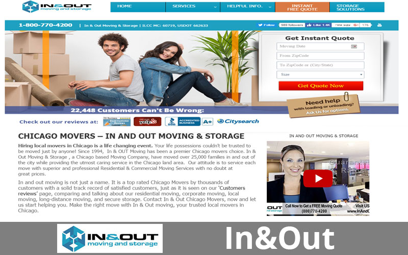In&Out Moving & Storage