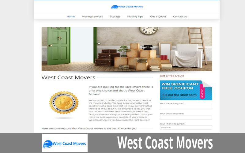 West Coast Movers
