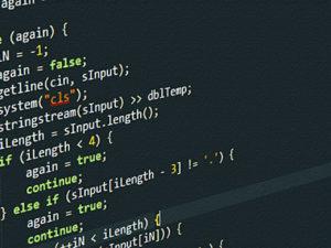 תמונת קוד של מסך בחברת SEOUP